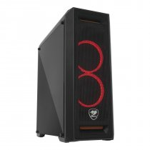 Cougar MX350 Mesh CGR-5NM2B-MESHC 700W 80+ PSU USB 3.0 ATX Mid-Tower Gaming Kasa