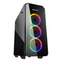 Cougar Puritas RGB CGR-5GMUB-RGB USB 3.0 Temperli Cam ATX Mid-Tower Gaming Kasa