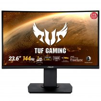 "Asus TUF Gaming VG24VQ 23.6"" 1ms 144Hz ELMB Adaptive-Sync Flicker-Free VA Full HD Curved Gaming Monitör"