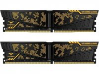 Team T-Force Vulcan TUF Gaming Alliance 16GB (2x8GB) DDR4 3200MHz CL16 Gaming Ram - TLTYD416G3200HC16CDC01