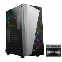 Zalman S4-PLUS(BL) 500W USB 3.0 RGB Fan Siyah ATX Mid-Tower Gaming Kasa