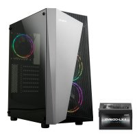 Zalman S4-PLUS(BL) 600W RGB Fan USB 3.0 Siyah ATX Mid-Tower Gaming Kasa