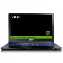 "MSI WS63 8SK(VPRO)-012TR i7-8850H 2.60GHz 32GB 1TB 256GB SSD 6GB Quadro P3200 15.6"" Full HD Win10 Pro Notebook"