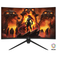 GamePower Intense X60 27'' 1ms 165Hz Curved 2K WQHD 2560*1440 RGB Gaming Monitör (Samsung VA Panel)