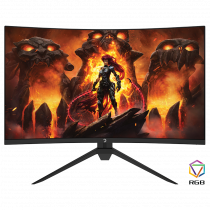 GamePower Intense X60 27'' 1ms 165Hz Curved 2K WQHD 2560*1440 RGB Gaming Monitör