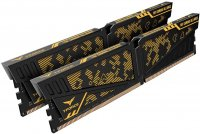 Team T-Force Vulcan TUF Yellow 16GB (2x8GB) DDR4 3600MHz CL19 Gaming Ram (Bellek)