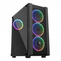 Frisby FC-9320G USB 3.0 4xRGB Fan ATX Mid-Tower Gaming (Oyuncu) Kasa