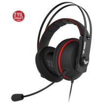 Asus Tuf Gaming H7 Core Red 3.5mm Kablolu Gaming (Oyuncu) Kulaklık