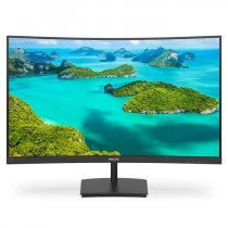 "Philips 241E1SCA/01 23.6"" 4ms 75Hz Full HD Mat Curved 3W Hoparlör W-Led Monitör"