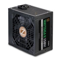 Zalman Wattgiga K650W ZM650-GVII 650W 120mm 80+ Power Supply