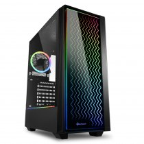 Sharkoon RGB-LIT-200 USB 3.0 RGB ATX Mid-Tower (Oyuncu) Gaming Kasa
