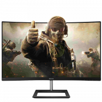 "Philips 272E1CA/01 27"" Full HD 4ms 75Hz VGA HDMI DP Curved (Kavisli) Gaming Monitör"