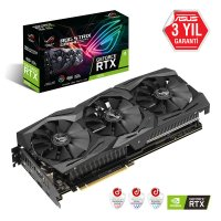 Asus ROG-Strix-RTX2070-8G-Gaming GeForce RTX 2070 8GB GDDR6 256Bit DX12 Gaming (Oyuncu) Ekran Kartı