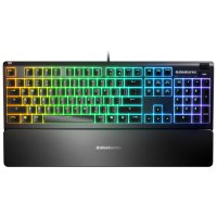 SteelSeries Apex 3 64808 IP32 RGB TR Q Gaming (Oyuncu) Klavye