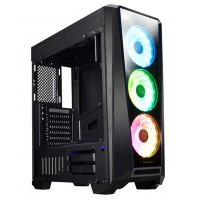 Xigmatek EN42739 Mystic 9 Temperli Cam USB 3.0 650W 80 Plus Dahili PSU'lu ATX Mid-Tower Gaming (Oyuncu) Kasa
