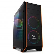 Vento VG06F+ 500W 80 Plus Dahili PSU'lu USB 3.0 Pencereli ATX Mid-Tower Gaming (Oyuncu) Kasa