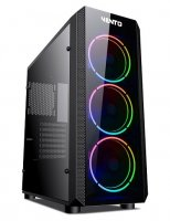 Asus Vento VG04FE 3x120mm RGB Fan USB 3.0 ATX Mid-Tower Gaming (Oyuncu) Kasa
