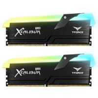 Team T-Force Xcalibur RGB 16GB (2x8GB) DDR4 4000MHz CL18 Siyah Gaming Ram - TF5D416G4000HC18EDC01