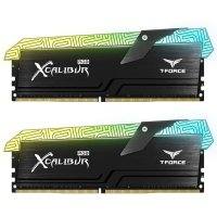 Team T-Force Xcalibur RGB Special Edition 16GB (2x8GB) DDR4 3600MHz CL18 Siyah Gaming Ram