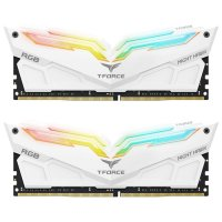 Team T-Force Night Hawk RGB 16GB (2x8GB) DDR4 4000MHz CL18 Beyaz Gaming Ram