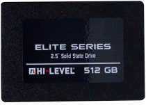 "Hi-Level Elite HLV-SSD30ELT/512G 512GB 560/540MB/s 2.5"" SATA3 SSD Disk"