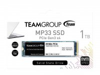 Team MP33 1TB 1800/1500MB/s NVMe PCIe M.2 SSD Disk