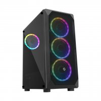 Frisby FC-9315G 600W 80+ Dahili PSU'lu USB 3.0 4xRGB Fan ATX Mid-Tower Gaming (Oyuncu) Kasa