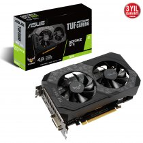 Asus TUF-GTX1650-4GD6-GAMING GeForce GTX 1650 4GB GDDR6 128Bit DX12 Gaming (Oyuncu) Ekran Kartı