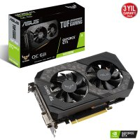 Asus TUF GTX1660S-O6G-GAMING GeForce GTX1660 Super 6GB GDDR6 192Bit Gaming (Oyuncu) Ekran Kartı