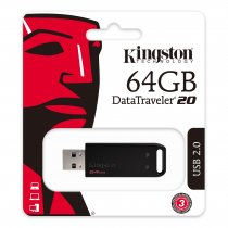 Kingston DataTraveler DT20/64GB 64GB USB.2.0 Flash Bellek