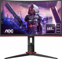 "AOC C24G2U 23,6"" 165 Hz 1ms FreeSync Premium WLED VA Full HD Curved Gaming Monitör"