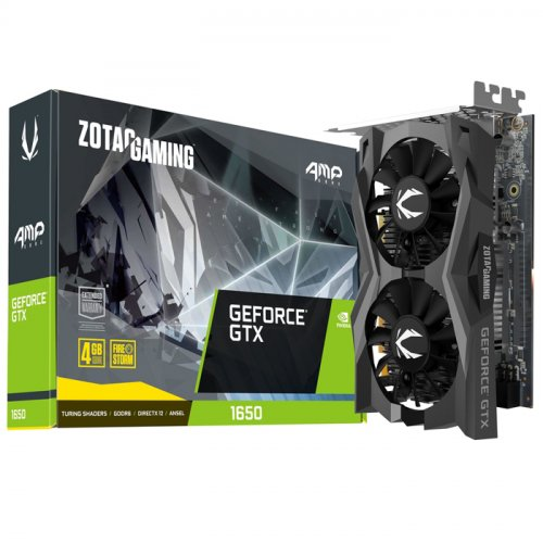 Zotac Gaming GeForce GTX 1650 AMP Core ZT-T16520J-10L 4GB GDDR6 128Bit DX12 Gaming (Oyuncu) Ekran Kartı