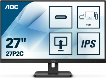 "AOC 27P2C 27"" 4ms 75Hz Adaptive-Sync IPS Full HD Monitör"