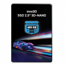 "Inno3D 480GB 2.5"" 3D Nand 510/480MB/s SSD Disk"