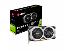 MSI GeForce GTX 1660 Super Ventus OC 6GB GDDR6 192Bit DX12 Gaming (Oyuncu) Ekran Kartı