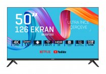 SABA SB50F350 50 inç 126 Ekran Frameless Ultra Hd Android Smart LED TV