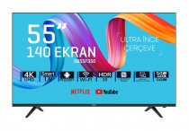 SABA SB55F350 55 inç 140 Ekran Frameless Ultra Hd Android Smart LED TV