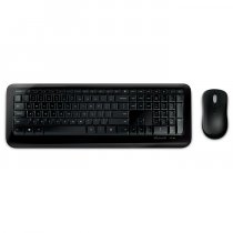 Microsoft Wireless Desktop 850 PY9-00015 İng Q Multimedya Siyah Kablosuz Klavye Mouse Set