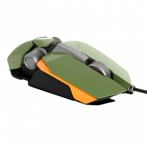 James Donkey 850R 12000DPI 8 Tuş PMW3360 Sensör RGB Optik Yeşil Gaming Mouse