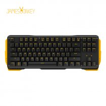 James Donkey 619S Sarı Aydınlatmalı Black/Red Switch İng Q USB Gaming Mekanik Klavye