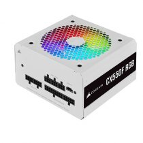 Corsair CX550F RGB White CP-9020225-EU 550W 80 Plus Bronze RGB Beyaz Full Modüler Power Supply