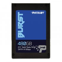 "Patriot Burst PBU480GS25SSDR 480GB 560/540MB/s 2.5"" SATA 3 SSD Disk"