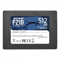 "Patriot P210 P210S512G25 512GB 520/430MB/s 2.5"" SATA 3 SSD Disk"