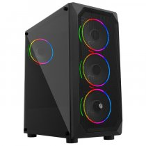 Frisby FC-9365G 650W 80Plus 4 x 120mm Double Slim Ring Fan Temperli Cam Mesh Panel USB 3.0 ATX Mid-Tower Gaming (Oyuncu) Kasa