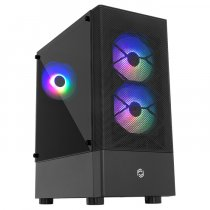 Frisby FC-8930G 650W 80Plus 3 x 120mm Rainbow Fan Temperli Cam Mesh Panel USB 3.0 ATX Mid-Tower Gaming (Oyuncu) Kasa