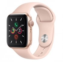 Apple Watch Seri 5 40mm GPS Gold Alüminyum Kasa ve Pembe Spor Kordon MWV72TU/A