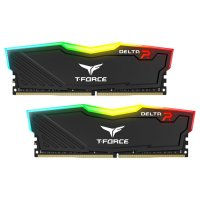 Team T-Force Delta RGB 32GB (2x16GB) DDR4 3200MHz CL16 Siyah Gaming (Oyuncu) Ram